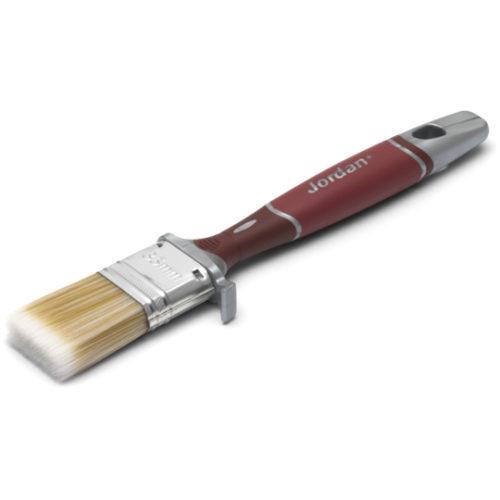 Jordan pensel flat perfect inne 25 mm på hvit bakgrunn
